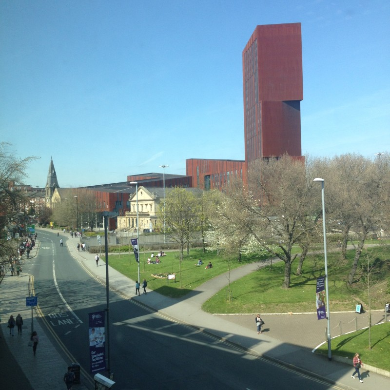Students wallow in 20 degree Leeds sunshine – Voxpop