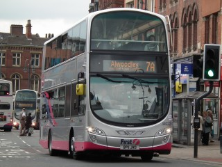 First Bus trials £1 student fare