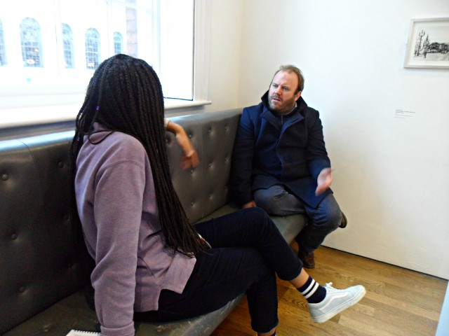 Reporter Sophie Okonkwo ait and talks to art curator Jon Wood about the exhibition.
