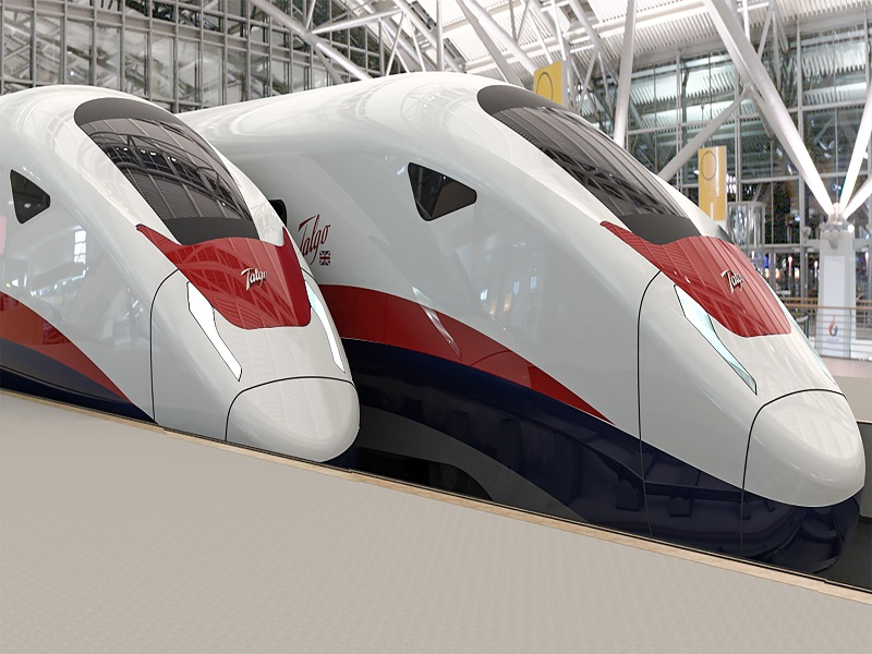 HS2 trains, potentially to be produced in Leeds.