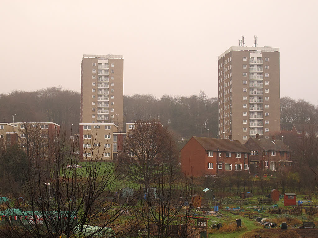 Queenswood Heights, Headingley, Leeds - Copyright Stephen Craven and licensed for reuse under this Creative Commons Licence.