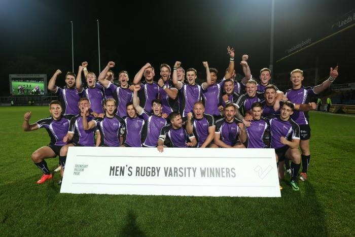Leeds Beckett 55 - 5  University of Leeds. Courtesy of Leeds Beckett
