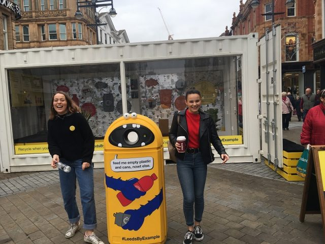 #LeedsbyExample – New recycling campaign come to leeds