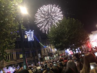 Leeds Christmas Lights was 'a great success' for children's charity