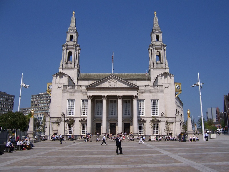 Leeds Civic Hall, where this year's awards ceremony took place.
