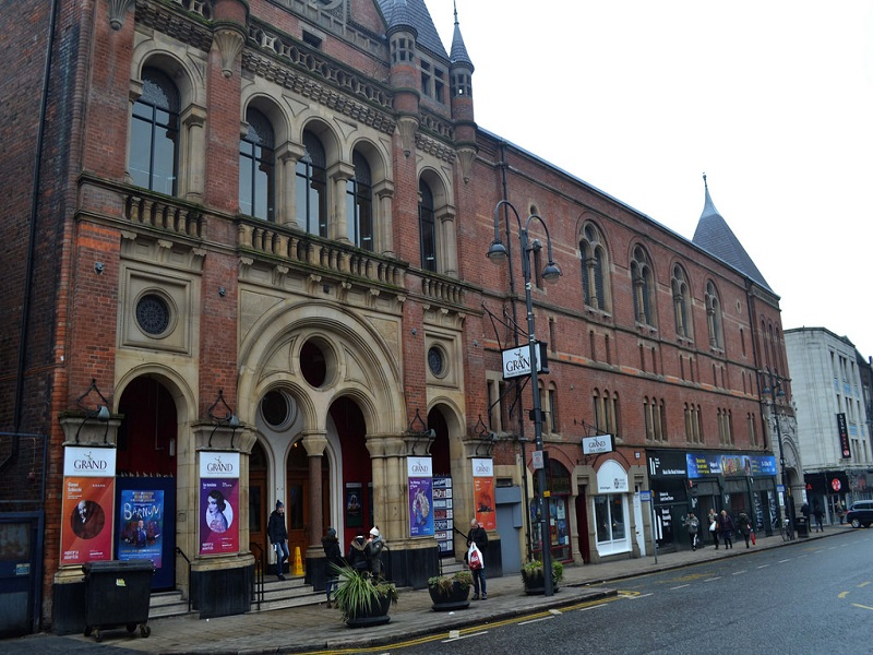 Leeds Grand Theatre, which first opened its doors in 1878