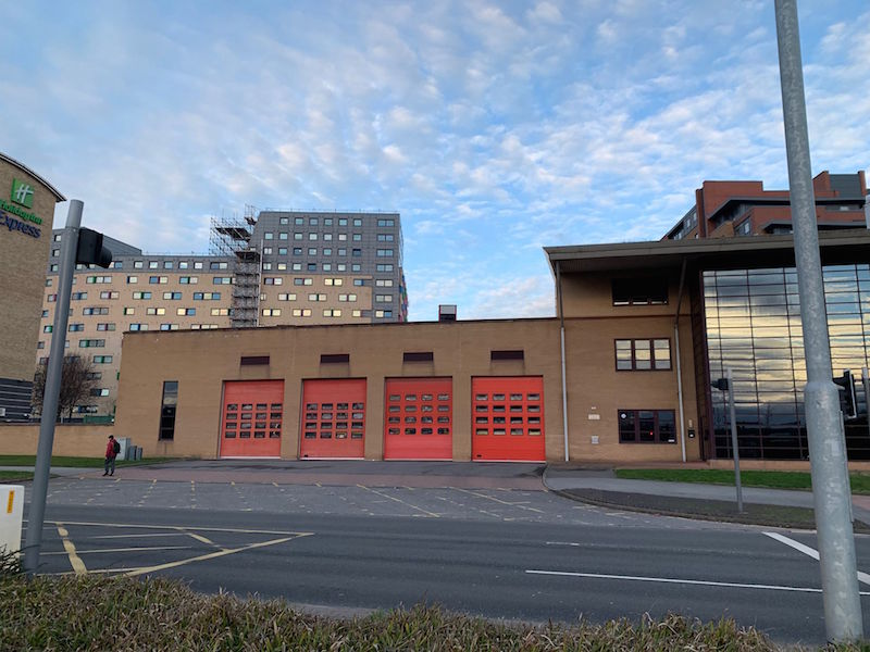 Kirkstall Fire station