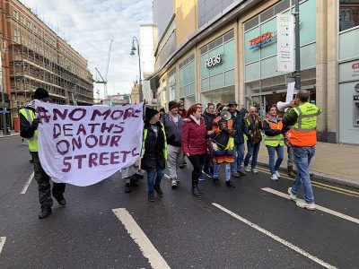 Leeds protest march calls for urgent end to homeless deaths