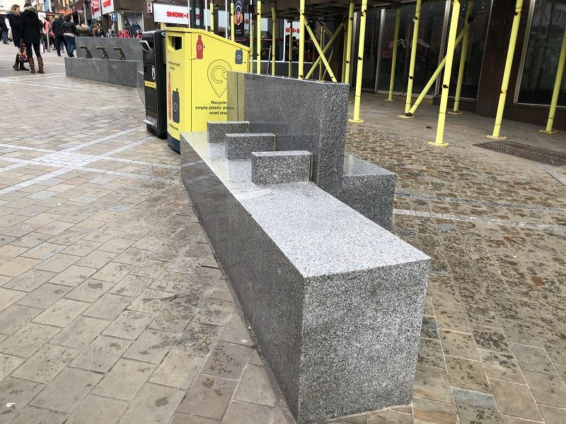 """Bench blocking measures deemed """"appalling"""" by Leeds homeless charity"""